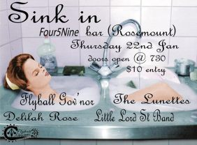 Sink In Poster